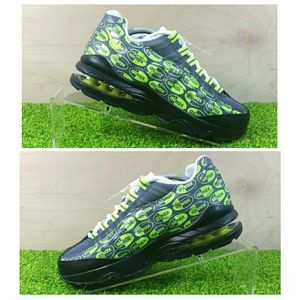 NEW Nike Air Max 95 SE GS Sneakers Grey Volt